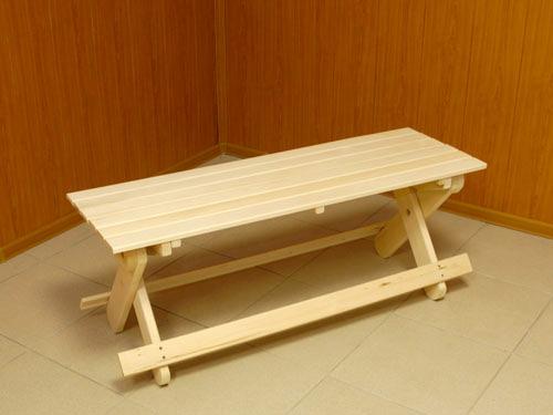 Как сделать стол в баню из дерева